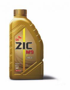 Полностью синтетическое моторное масло премиум-класса ZIC M9 4T 10W-40