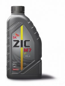 Синтетическое моторное масло ZIC M7 4T 10W-40 для современных спортивных, дорожных и внедорожных мотоциклов, скутеров и квадроциклов